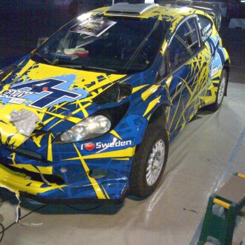 Car full wrap - color change application