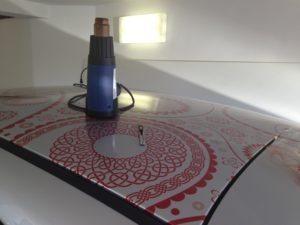 Car Full Wrap - application