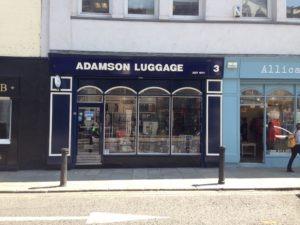 Shop front signage Dublin