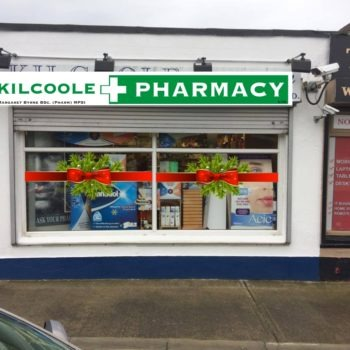 Sign on Time_signage Wicklow_Shop front christmas2