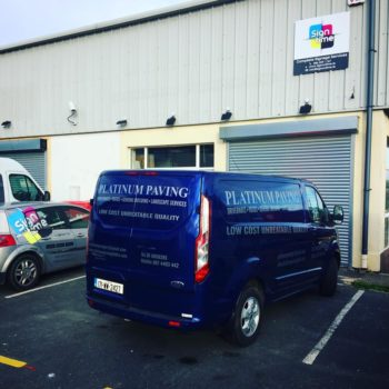 Sign on Time_signage_van wrap