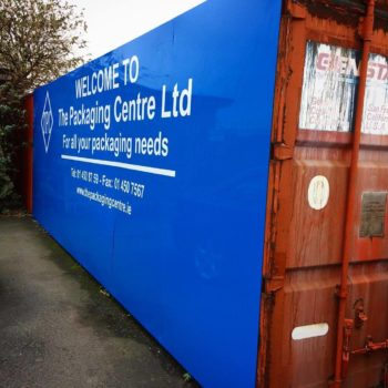 Sign on Time_container wrap