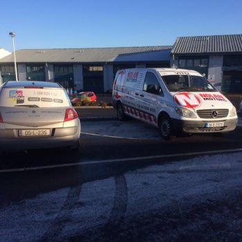 Sign on Time_signmaking_Ireland_van graphics