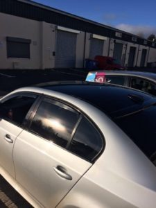 Sign on Time_signmaking_Ireland_roof wrap