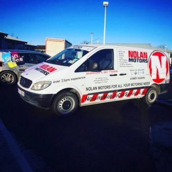 Sign on Time_signmaking_Ireland_van wrap
