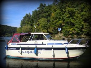 Sign on Time_signage_boat wrap_decals