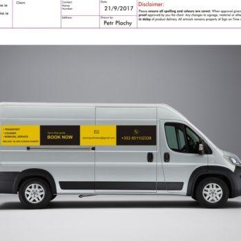 Sign on Time_Proof Sheet VJ transport