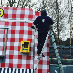 food van wrap Glendalough