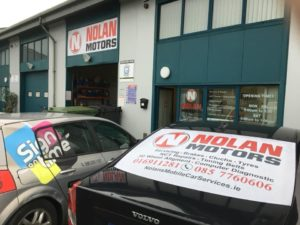 Sign on Time car wrap print and decals fleet graphics Ireland