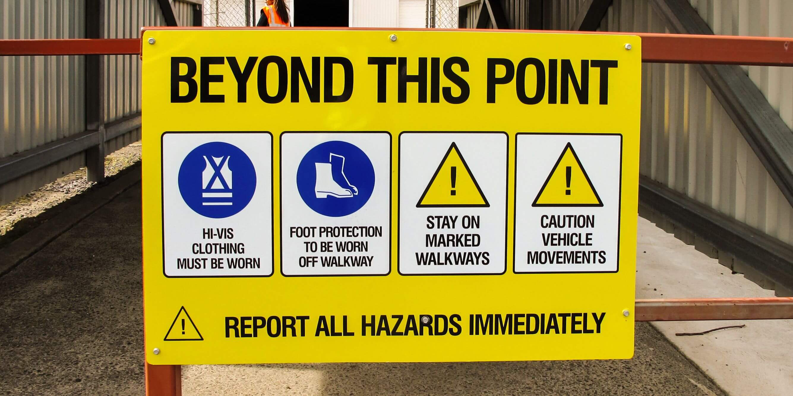 Temporary Short Term Signs Safety Signs Dublin