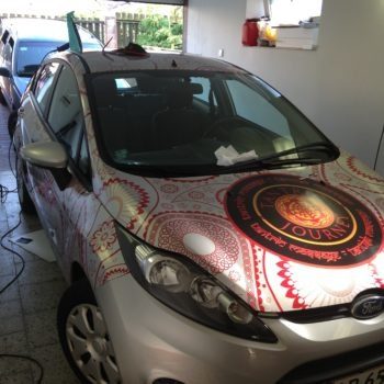 Car Full Wrap - application