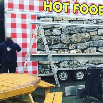 food van wrap Glendalough