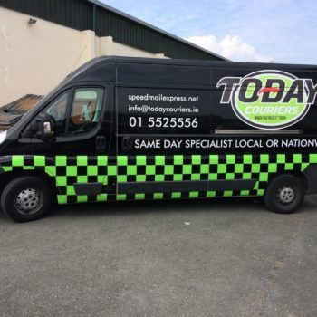 courier van graphics