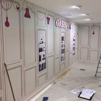 Oasis Installation Arnotts Dublin