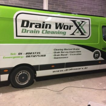 Full van wrap Wicklow