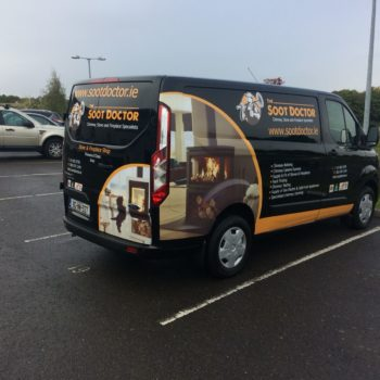Vehicle graphics/van graphics/van wrap/van decals/vehicle wrap Wicklow