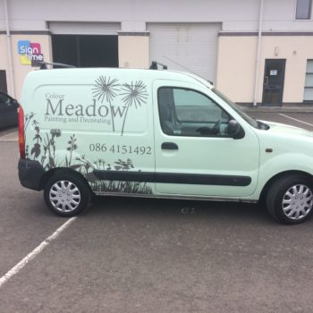 Vehicle Graphics/full van wrap/designed by Sign on Time