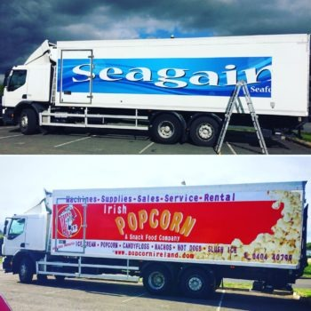Lorry graphics/truck wrap/truck graphics