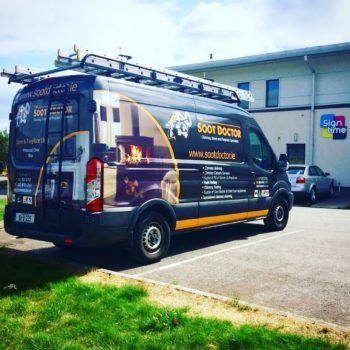 Van graphics / Van wrap / Sign on Time