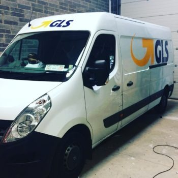 Van graphics / Van wrap / Sign on Time / GLS van graphics