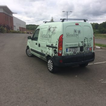 Vehicle graphics/van wrap/full van wrap