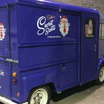 Cadbury van graphics full van graphics