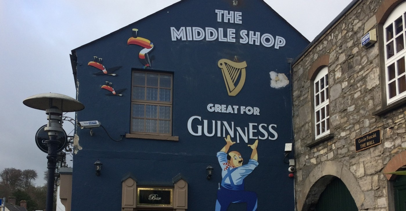 Guiness graphics The middle shop Leixlip