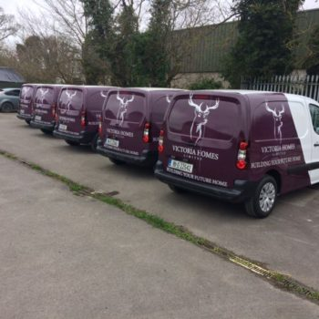 Sign on Time_fleet branding_fleet graphics_fleet wrap