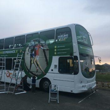 Double Decker Bus Graphics | bus wrap